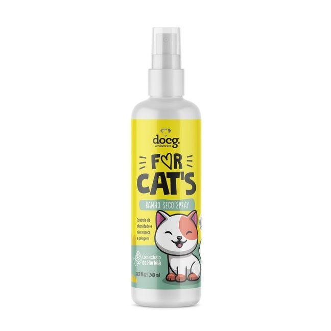 Banho Seco Spray For Cats - 250ml