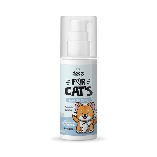 Banho Seco Espuma For Cats - 150ml