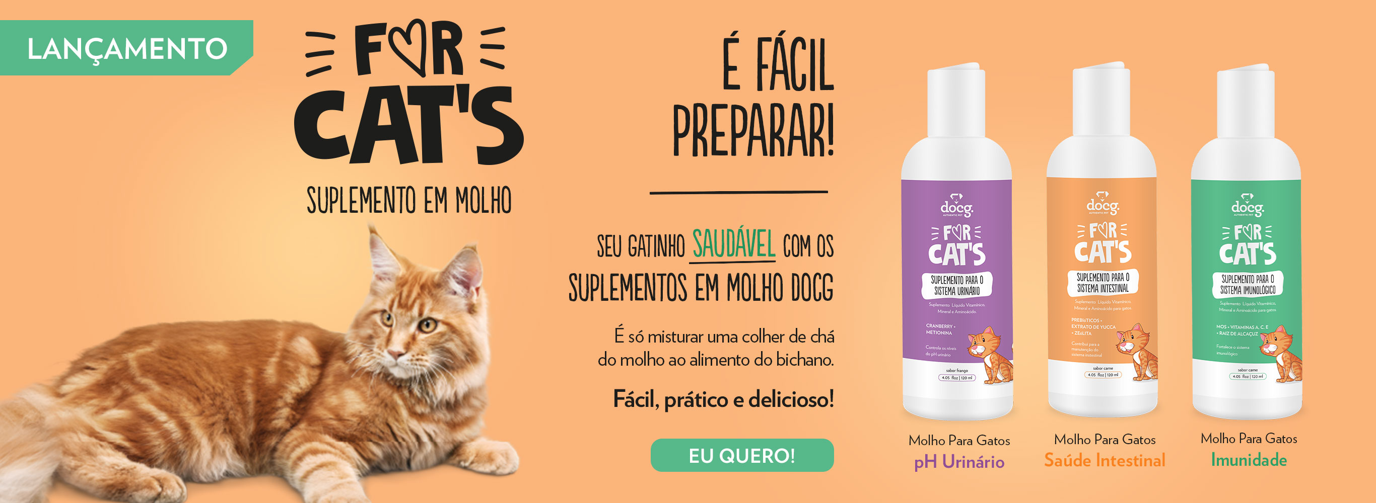 Banner suplemento for cats